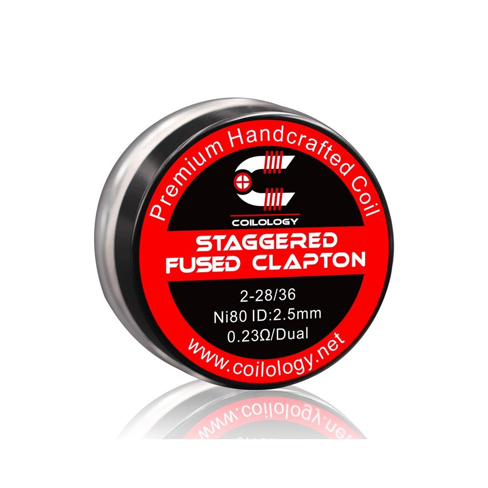 STAGGERED FUSED CLAPTON -...